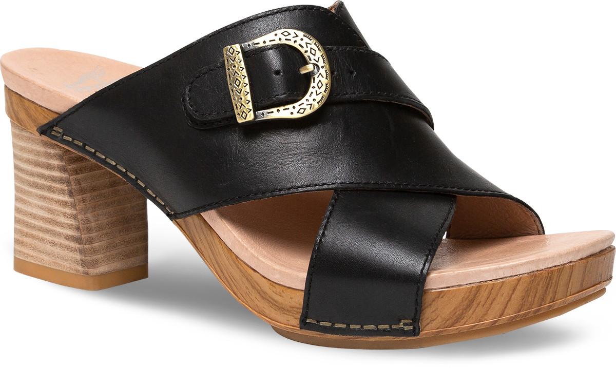 c1a98ce618c1 Home · Women s · Shop By Style · Sandals  Dansko Amy. Black Burnished Calf