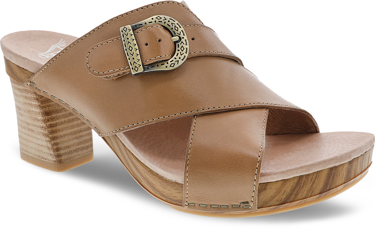 6b71f2661eb7 Home · Women s · Shop By Style · Sandals  Dansko Amy. Black Burnished Calf  · Black Burnished Calf · Tan Burnished Calf