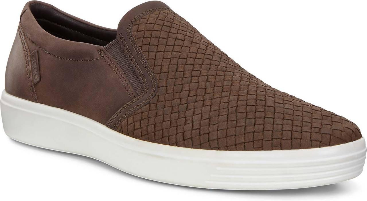 ECCO Men's Soft 7 Slip-On - FREE Shipping \u0026 FREE Returns - Men's Loafers \u0026  Slip-Ons, Men's Sneakers \u0026 Athletic