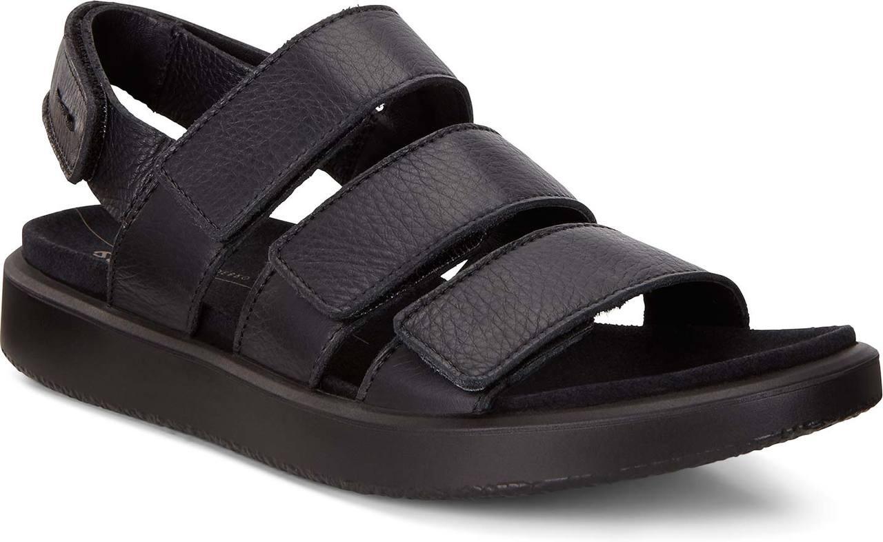 5f436a65 ECCO Women's Flowt 3 Strap Flat Sandal