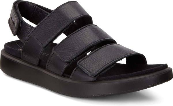 ECCO Women's Flowt 3 Strap Flat Sandal