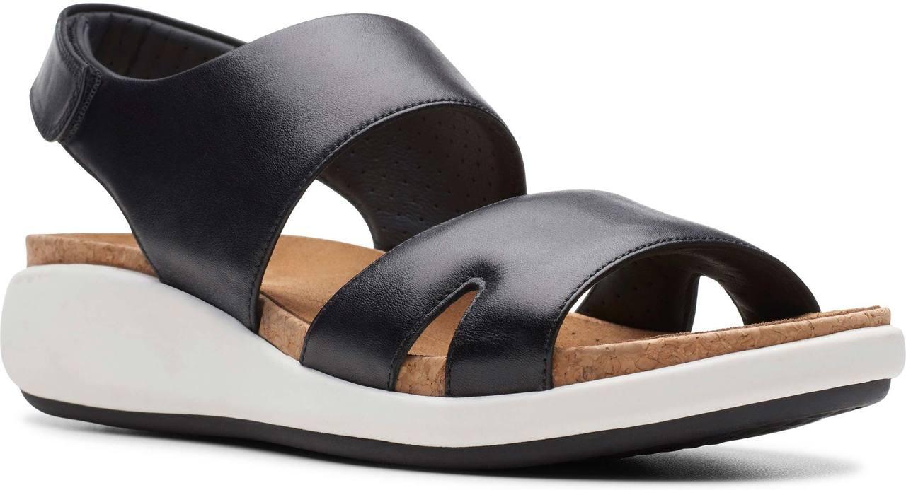 77168ad17266 ... Sandals  Clarks Unstructured Women s Un Bali Sling. Black Leather