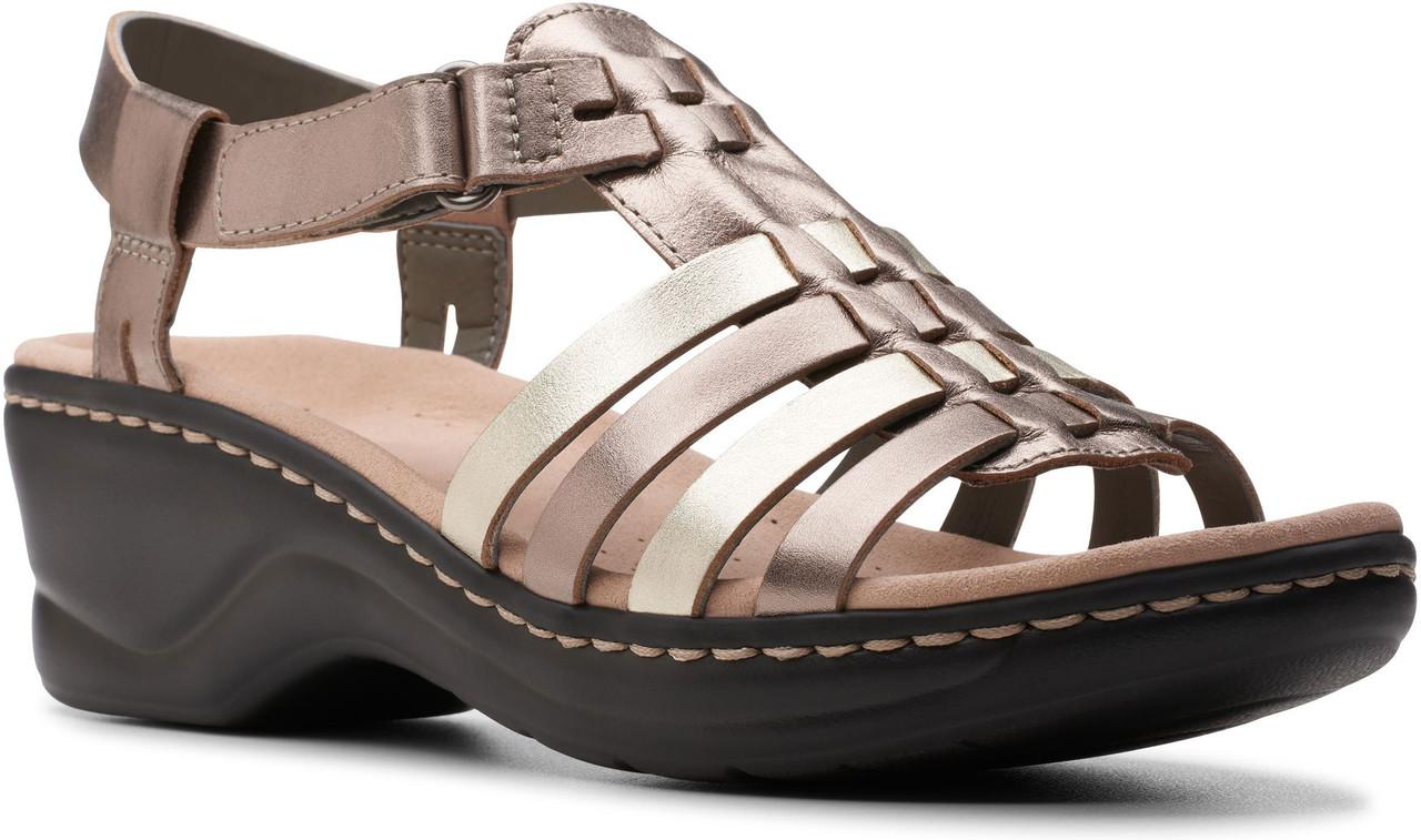 fb77dcfa27aa ... Shop By Style · Sandals  Clarks Women s Lexi Bridge. Black Leather ·  Black Leather · Metallic Multi Leather ...