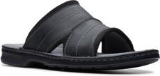 Black Tumbled Leather