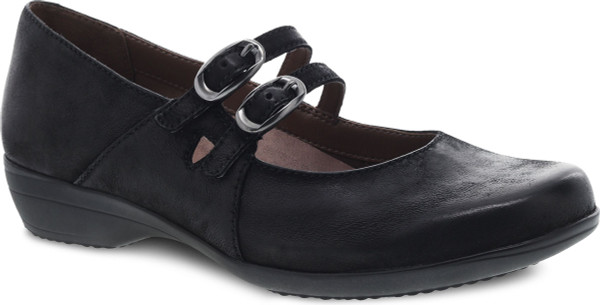 Black Bunished Nubuck