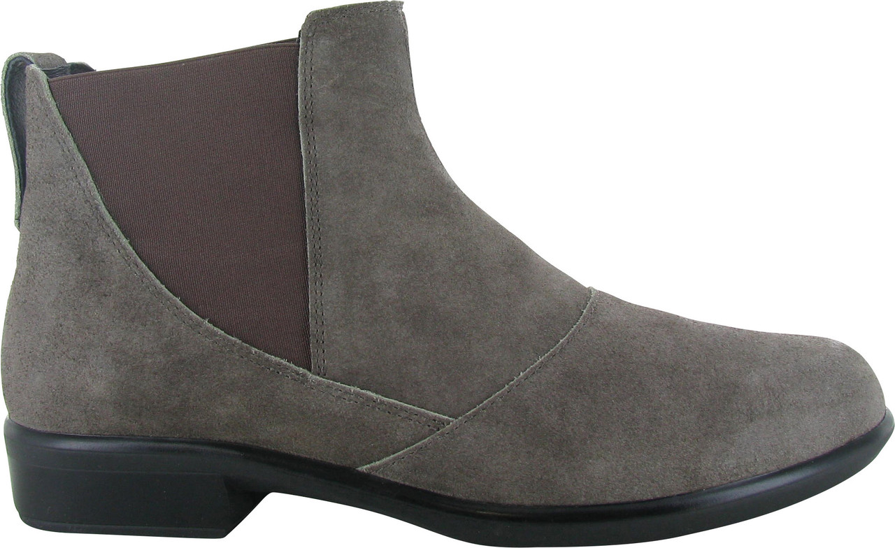 Taupe Gray Suede