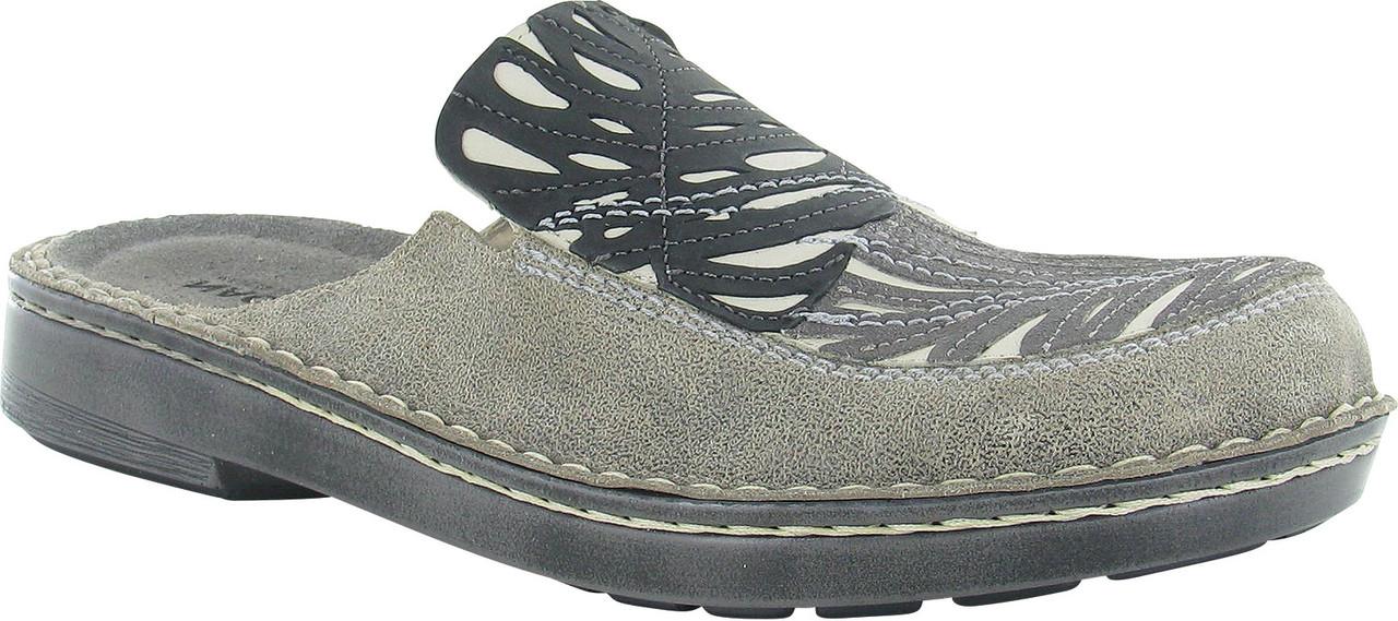 Speckled Beige Leather/Khaki Beige/Gray Shimmer Leather/Black Velvet Nubuck