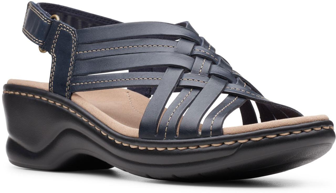 Navy Leather