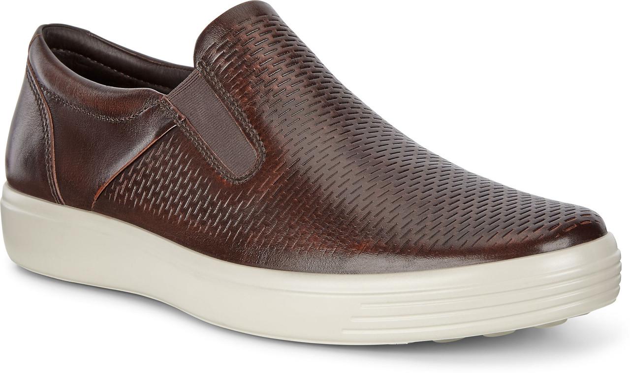 ECCO Men's Soft 7 Slip-On Sneaker