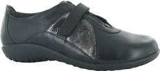 Soft Black Leather/Metallic Onyx Leather/Soft Black Leather/Black Madras Leather