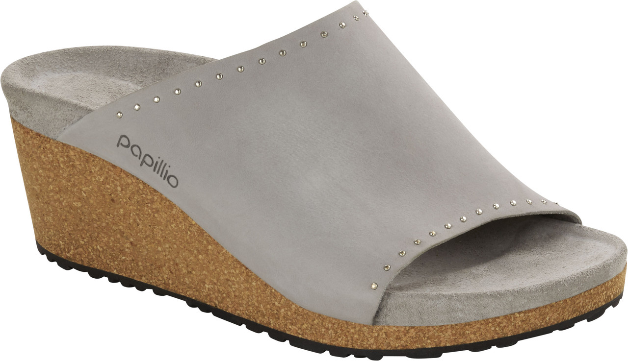 Stone Coin Nubuck Leather