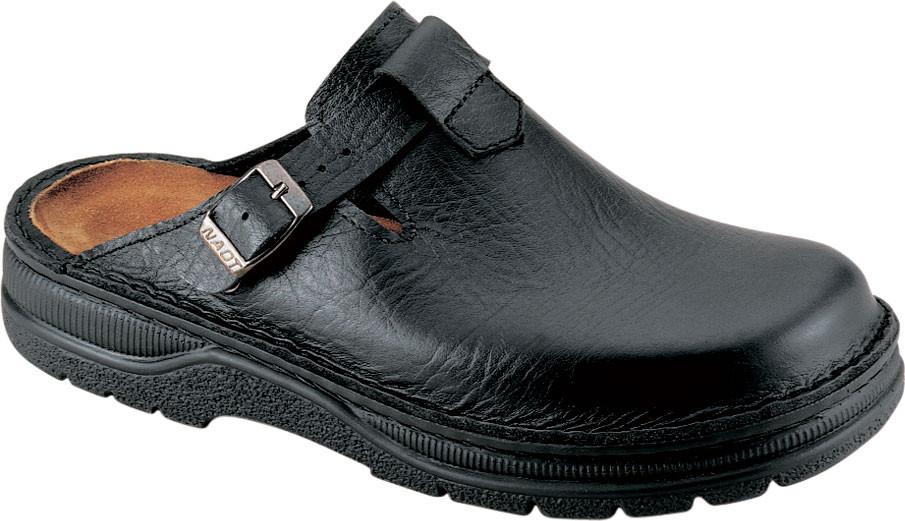 Textured Black Leather