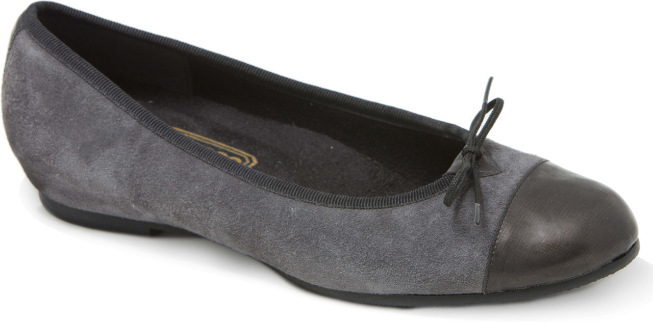 Gray Suede/Gray Patent