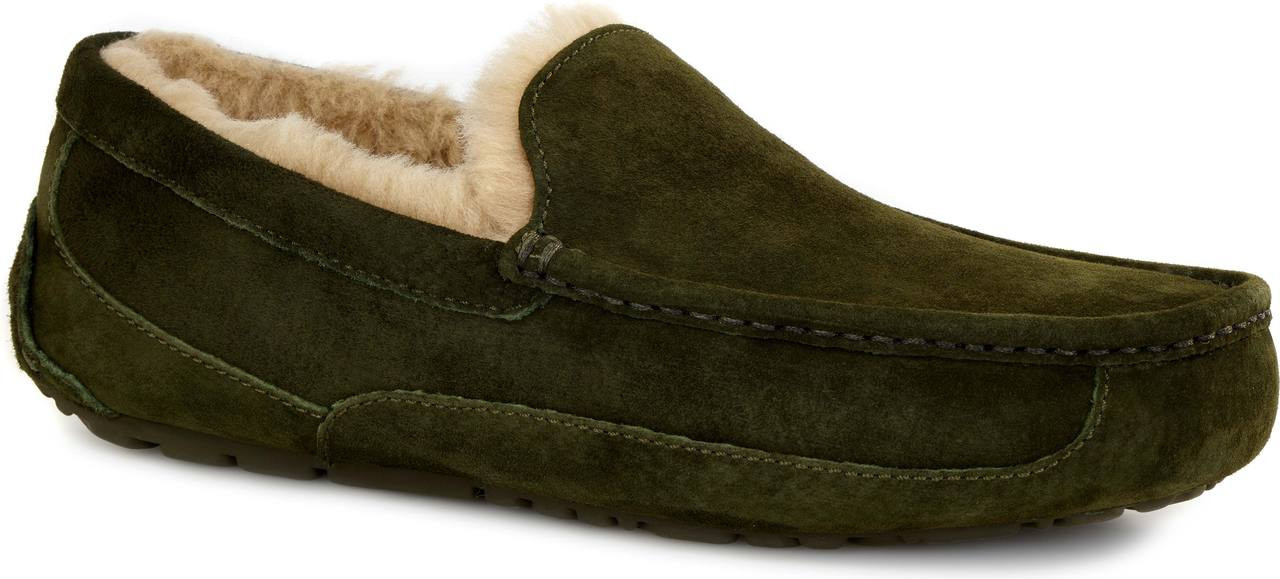 Lodge Green Suede