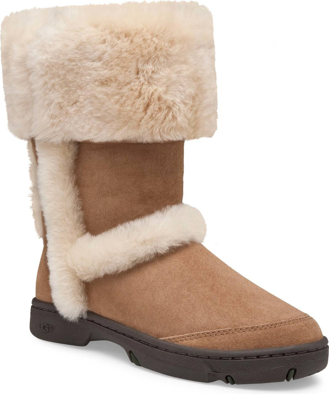 ... UGG Women's Sunburst Tall. Chestnut · Chestnut · Grey/Black
