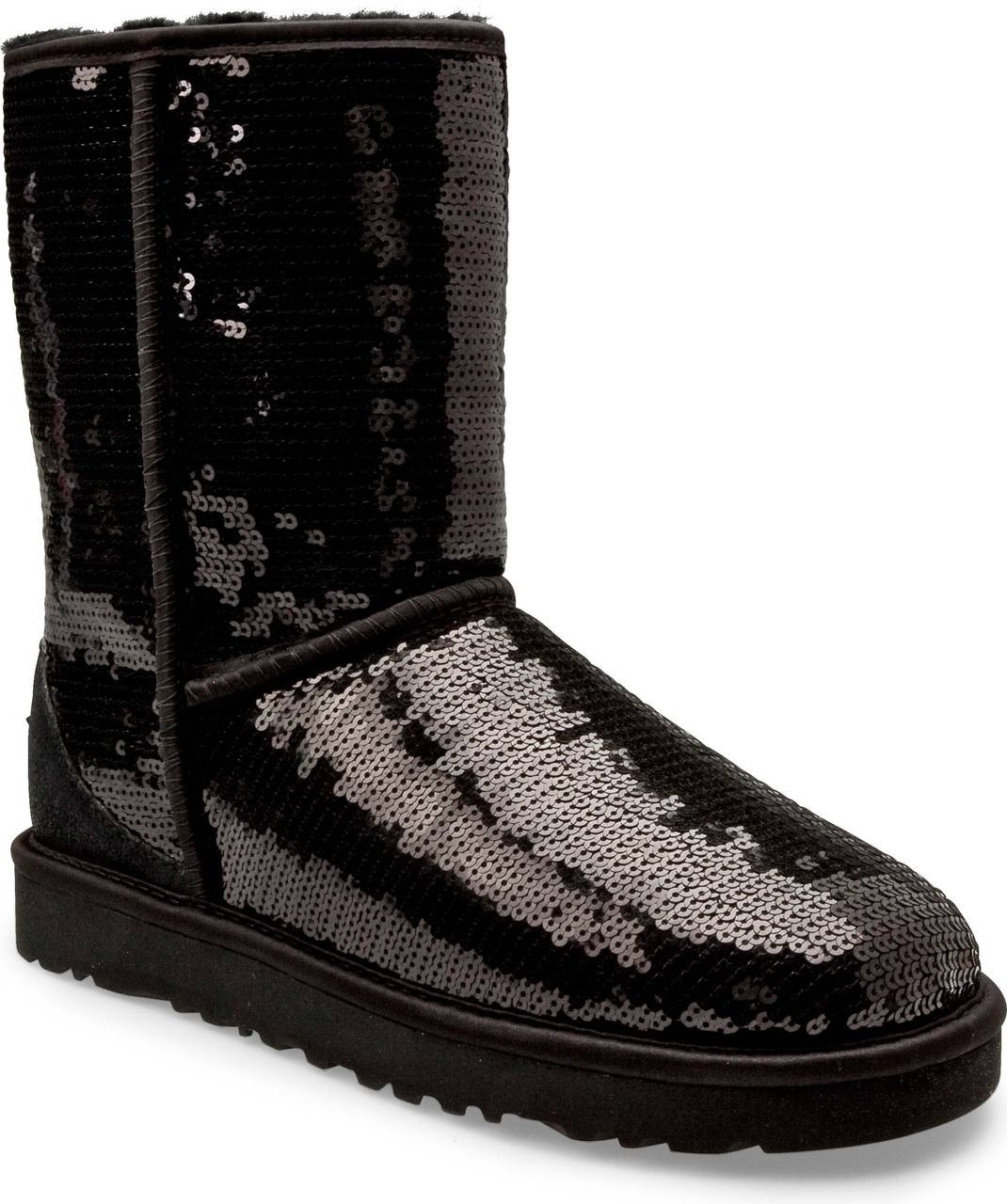 black sparkle uggs on sale