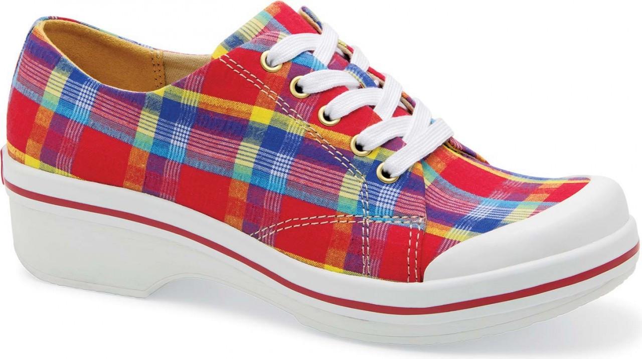 Dansko Veda Canvas Lace Up Shoes
