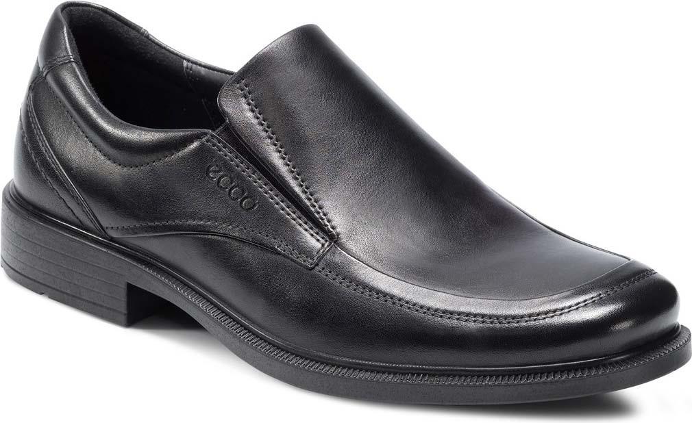 Ecco Slip On Mens Shoes Square Toe