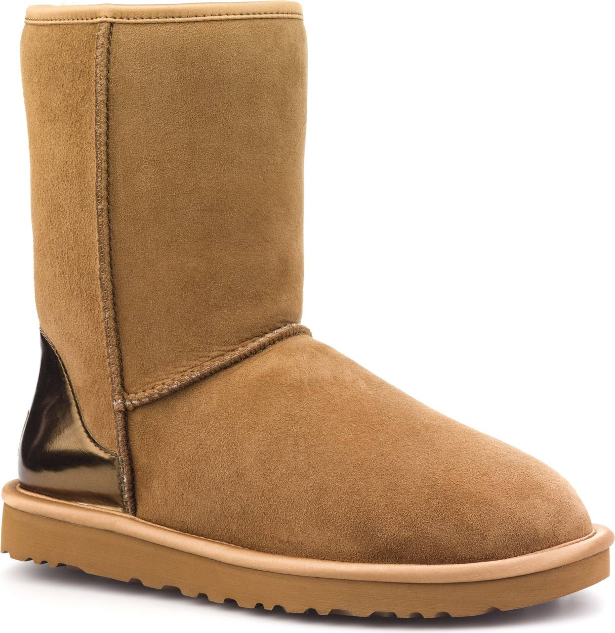 ugg Classic short Boots Metallic