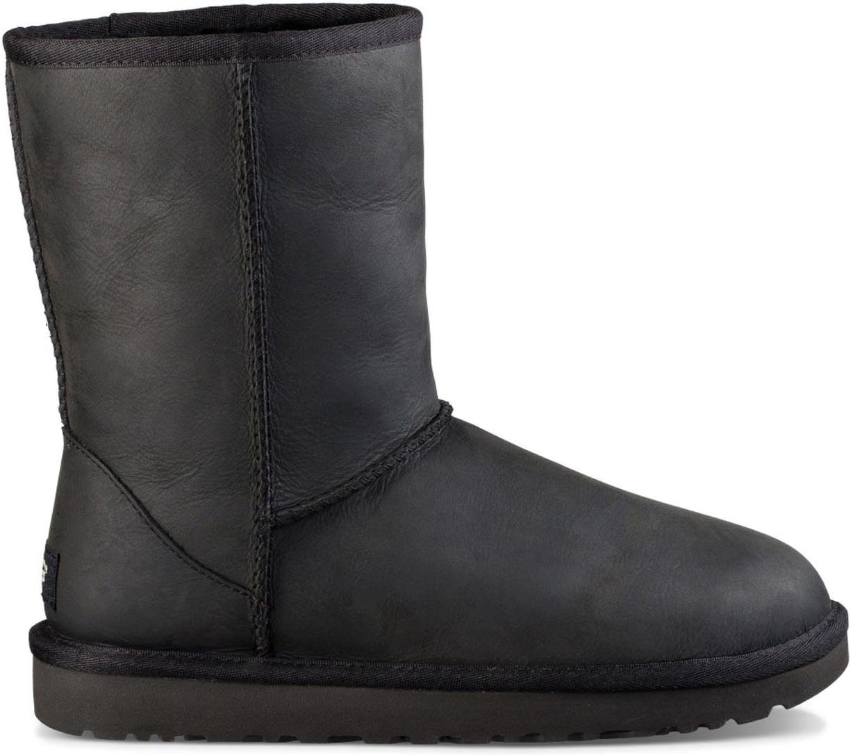 6c87042f1d05 ... Boots  UGG Women s Classic Short Leather. Black. Black  Black TL   Brownstone ...