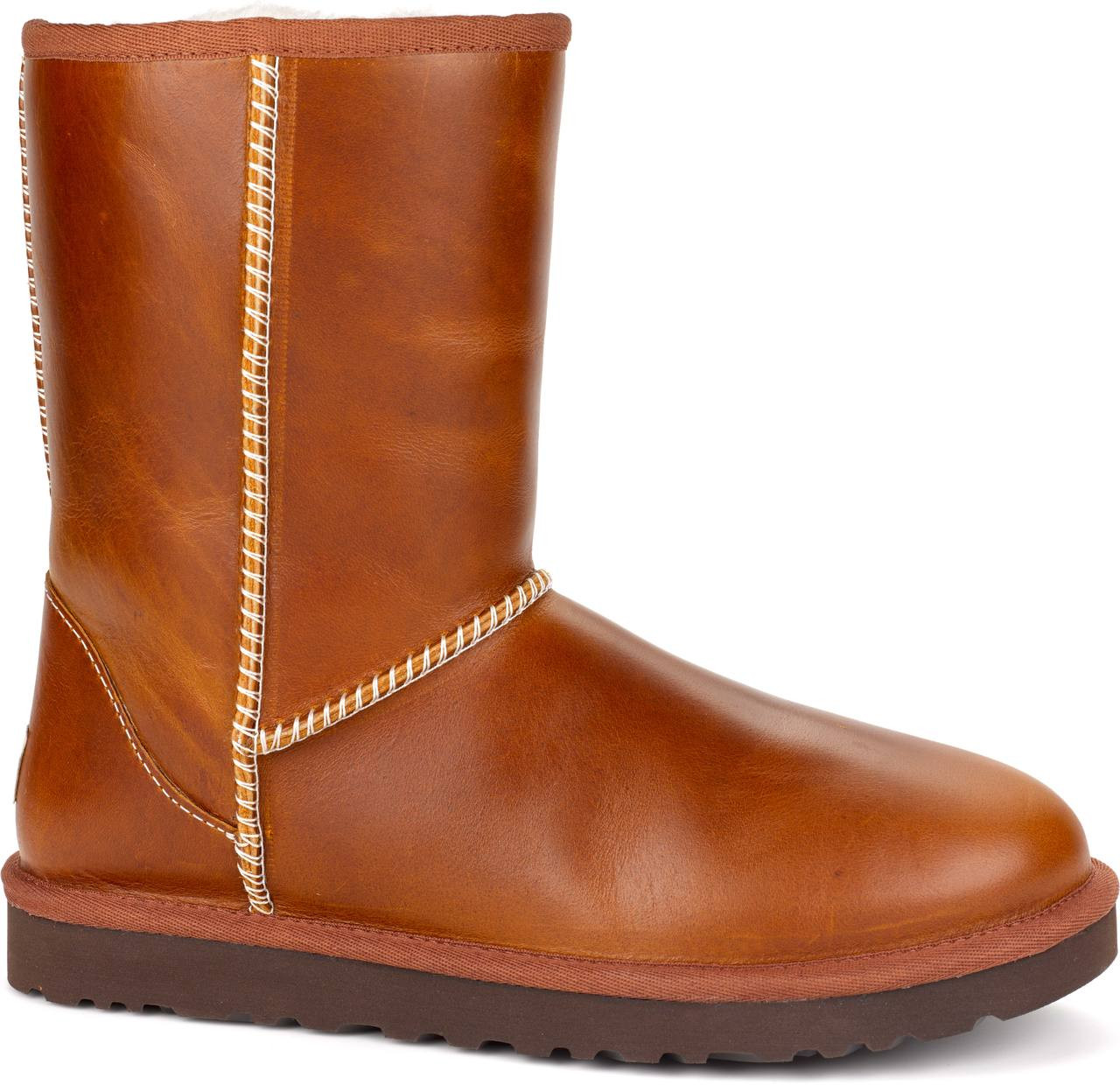 UGG Women's Classic Short Leather - FREE Shipping & FREE ...