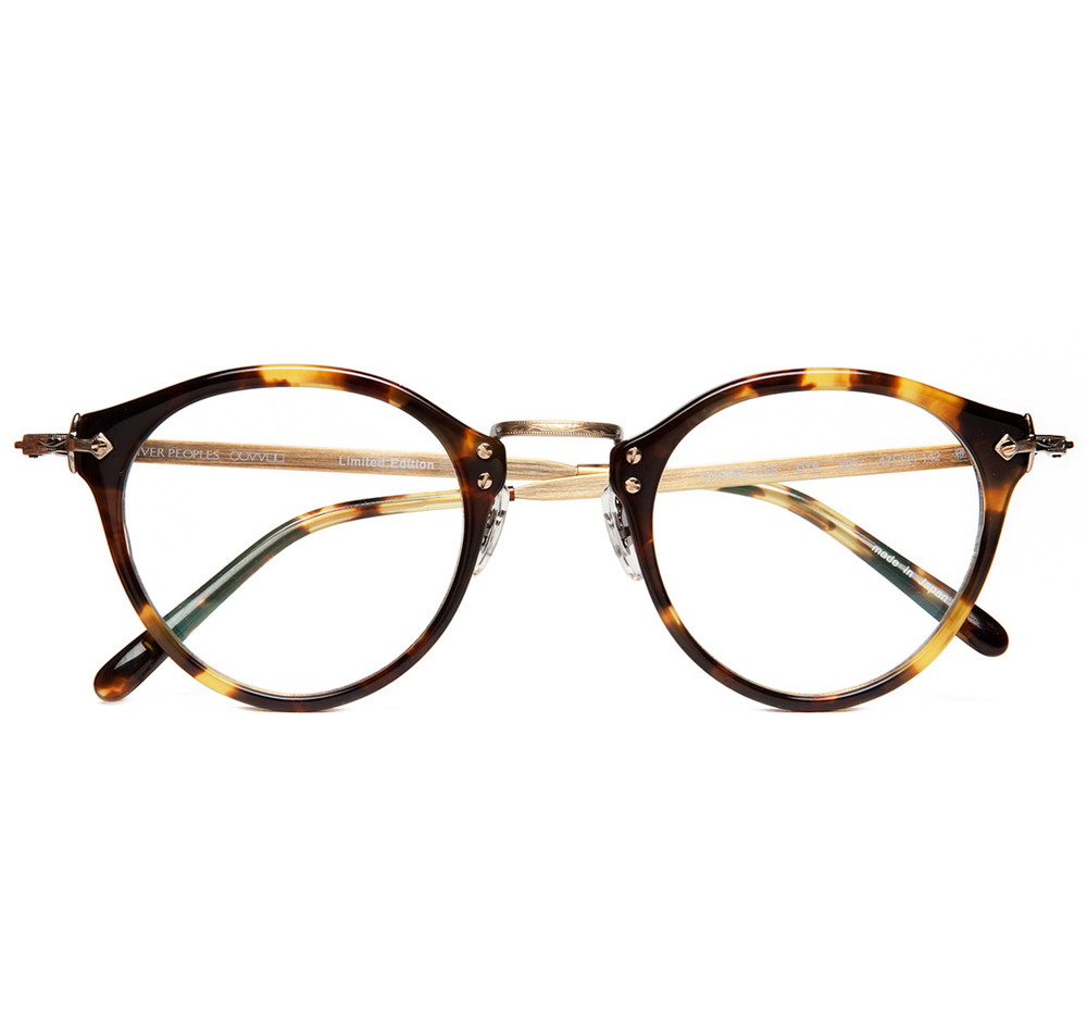 Oliver Peoples Op 505 Dtb Antique Gold Sir Jack S