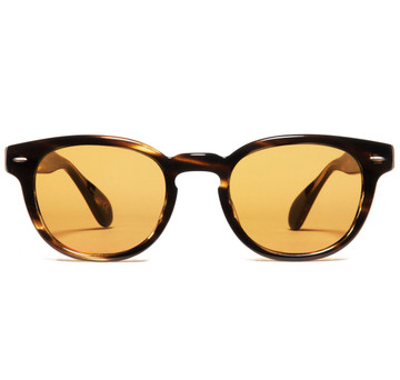 Oliver Peoples Sheldrake Cocobolo with Champagne Photochromic Vintage Glass