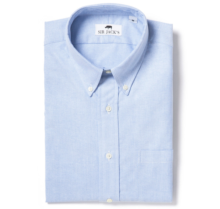 Sudbury Oxford Shirt in Blue