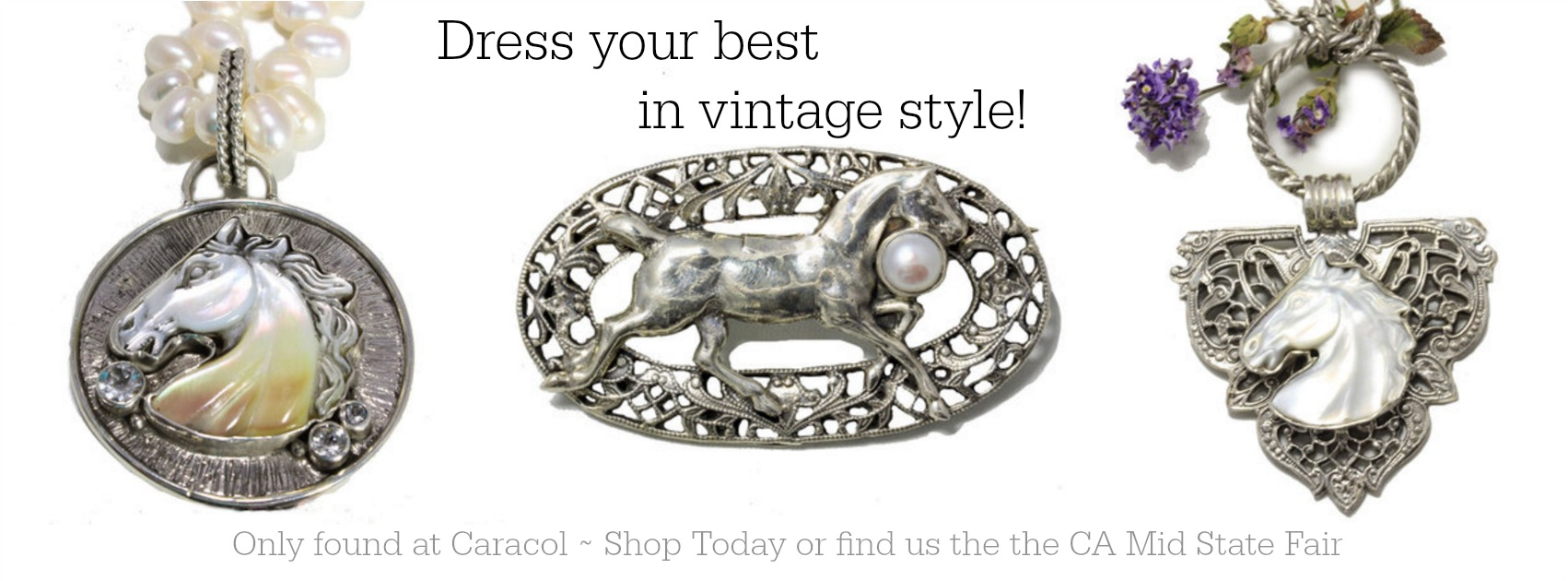 Equestrian Inspired Vintage Jewelry by Caracol