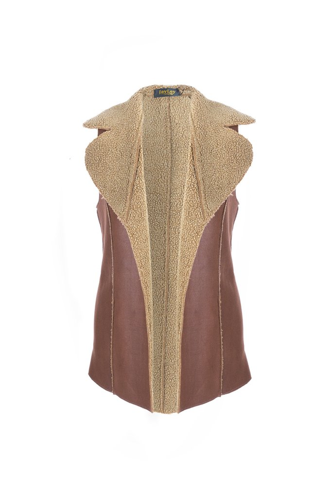 Vegan Leather Vest