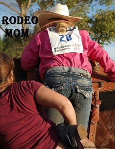 Rodeo Mom Gives a Leg-Up