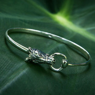 Snaffle Horse Head Bracelet | Sterling Silver | Caracol