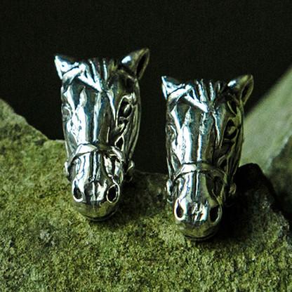 Bridled Horse Head Earrings
