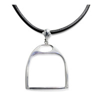 Grande English Riding Stirrup Pendant