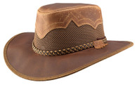 Sirocco Leather Western Style Hat | Copper