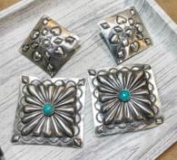 Nevada Turquoise Dangling Earrings