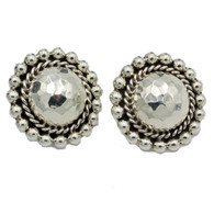 Concho Sterling Silver Earrings | Post