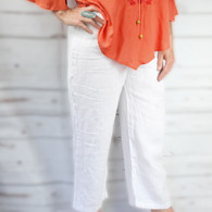 Linen Pants | White | Caracol