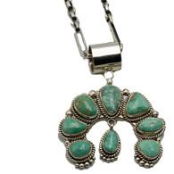 Fantail Turquoise Naja Pendant