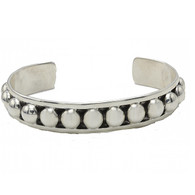 Medium (6mm) Navajo Pearl Cuff