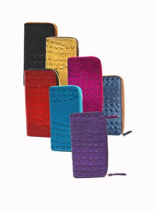 Tina Italian Calfskin Leather Wallet   All Colors