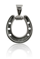 Caracol Jewelry's Design Horseshoe Pendant