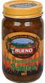 Bueno Flame Roasted Green Chile Sauce CASE (twelve 16oz Jars)