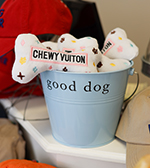 Chewy Vuiton Dog Toys at Paws pet boutique Naples