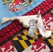 Maryland Paw Print Jewelry
