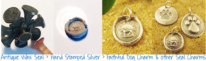 Faithful Dog Charm Jewelry