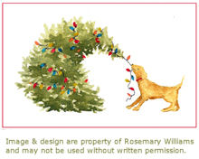 Rosemary Freitas Williams - Holiday Card Artist at Paws Pet Boutique