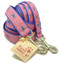 Maryland Blue Crabs Dog Leashes with Pink Ribbon Background