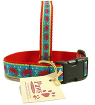 Festive Red Crab Dog Collar