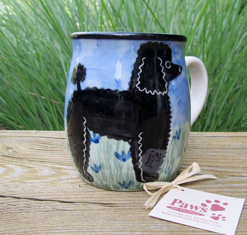 Black Poodle Mugs made in USA